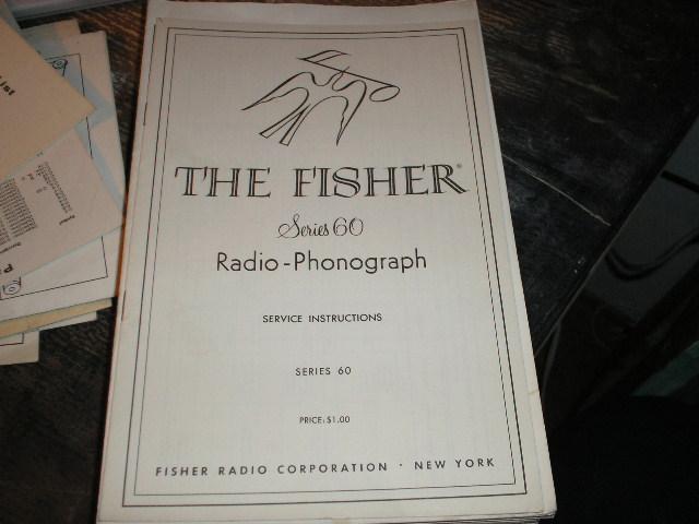 Series 50 Radio-Phonograph  Service Instruction Manual
