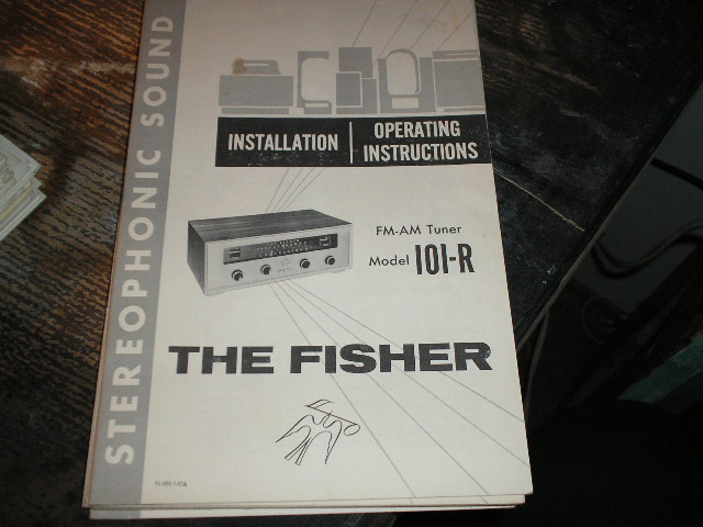 101-R FM-AM Tuner Operating and Installation Manual
