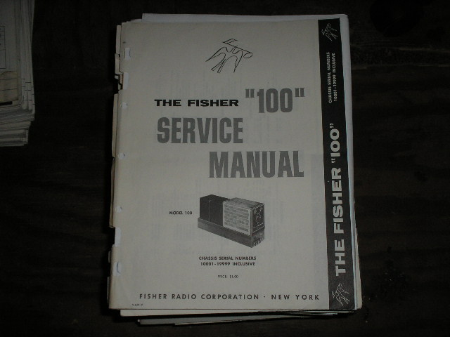 100 Amplifier Service Manual for Serial no. 10001 - 19999