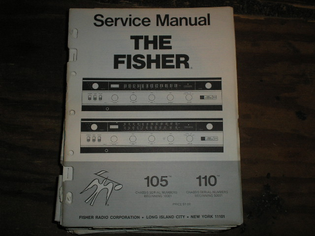 105 110 Amplifier Service Manual  105 for Serial no. 10001 and up 110 for Serial no. 50001 and up