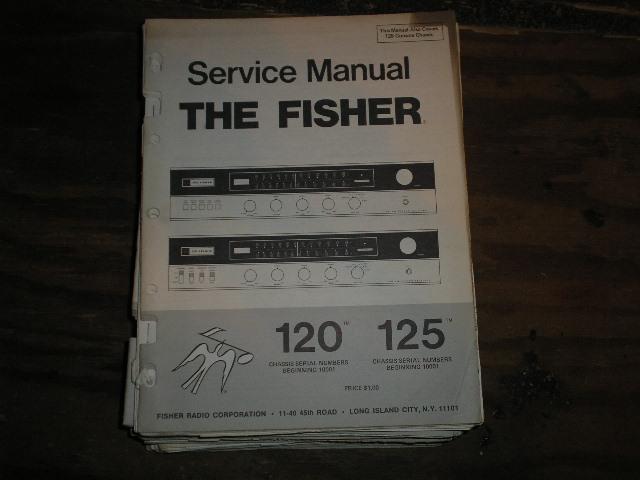 120 125 Receiver Service Manual  120 Receiver for Serial no. 10001 and up 125 Receiver for Serial no. 10001 and up