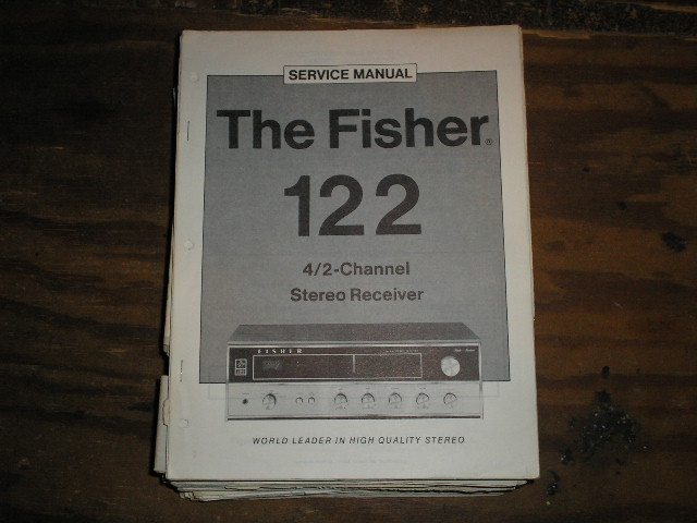 122 Receiver Service Manual  Fisher
