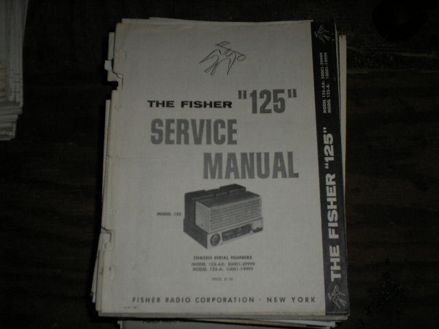 125-B Amplifier Service Manual for Serial no. 50001  and UP