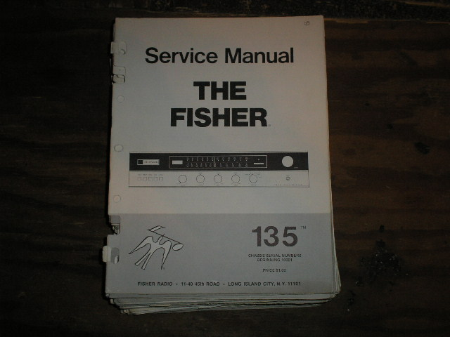 135 Receiver Service Manual  Fisher