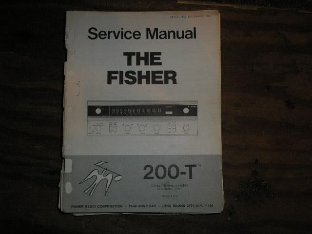 200-T Receiver Service Manual