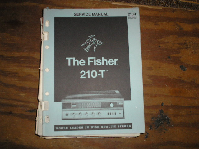 210-T  Receiver Service Manual  Fisher