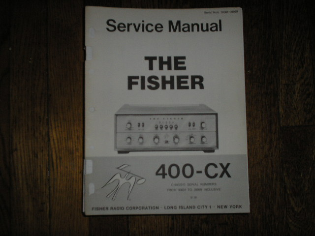 400-CX Control Amplifier Service Manual from Serial no. 30001 - 39999
