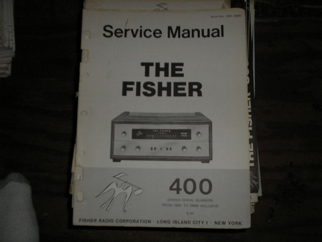 400 Receiver Service Manual from Serial no. 10001 - 29999  Fisher
