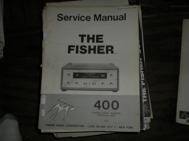 400 Receiver Service Manual from Serial no. 48001 and up  Fisher
