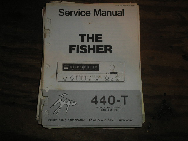 440-T RECEIVER Service Manual from Serial no. 47001  Fisher