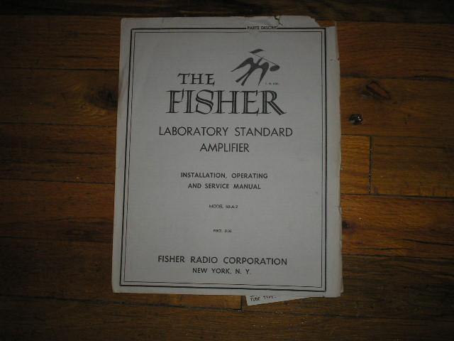 50-A-2 Amplifier Service Manual