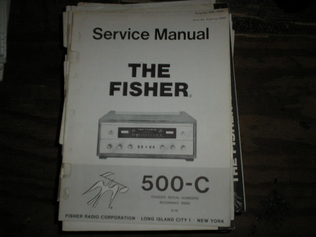 500-C Receiver Service Manual from Serial no. 30000  Fisher