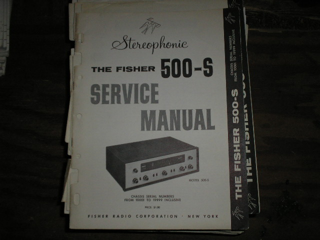 500-S Receiver Service Manual from Serial no. 10001 - 19999