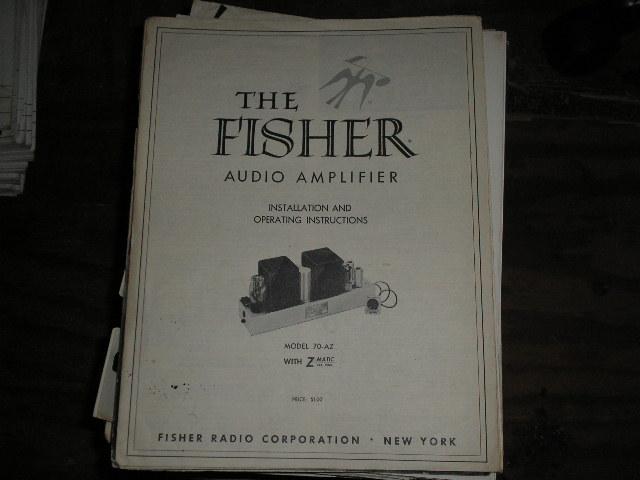 70-AZ Amplifier Service Manual