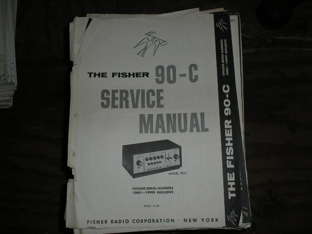 90-C Pre-Amplifier Service Manual .. Serial Number 10001 - 19999