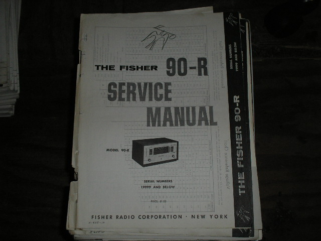 90-R Tuner Service Manual.. Serial Number 19999  and below..