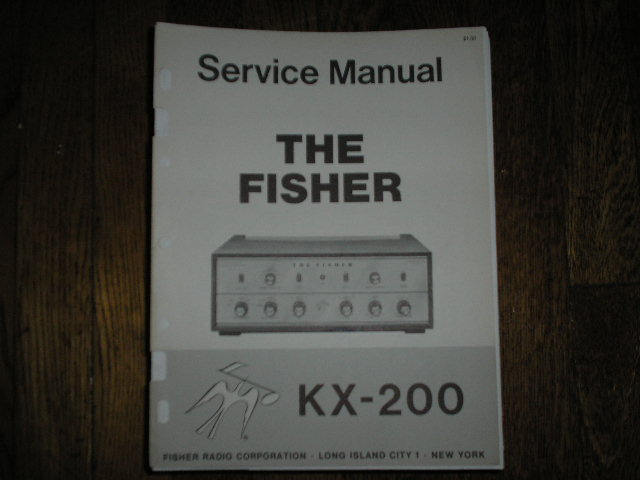 KX-200 Control Amplifier Service Manual