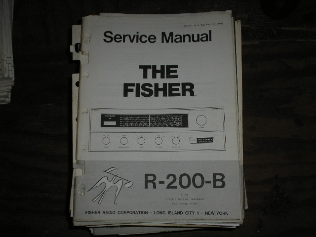 R-200-B Multi Band Tuner Service Manual for Serial no. 21001 & up