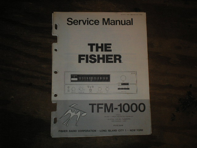 TFM-1000 RECEIVER  FMR-2 Rack Mount Version Service Manual from Serial no. 10001