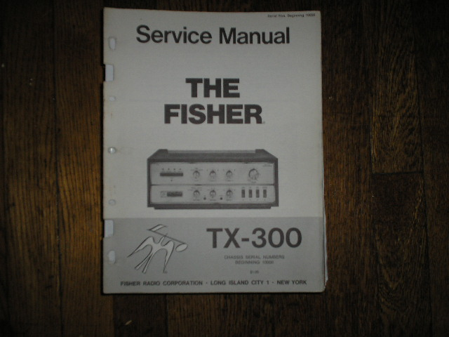 TX-300 Amplifier Service Manual for Serial no 10000 and up