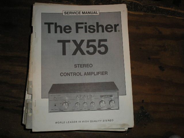 TX-55 Amplifier Service Manual
