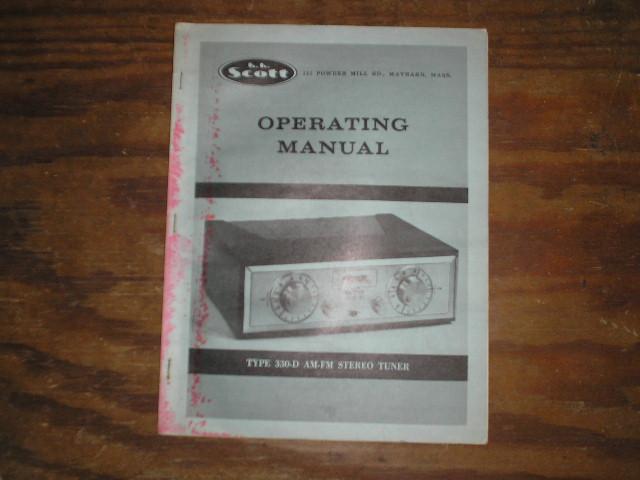 330-D Tuner Operating Manual