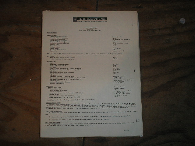 344 Tuner Amplifier Service Manual.. Schematic is dated Sept 21st 1964 and Oct. 3rd 1964