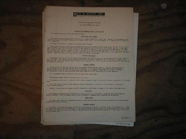 Copley Console Service Manual