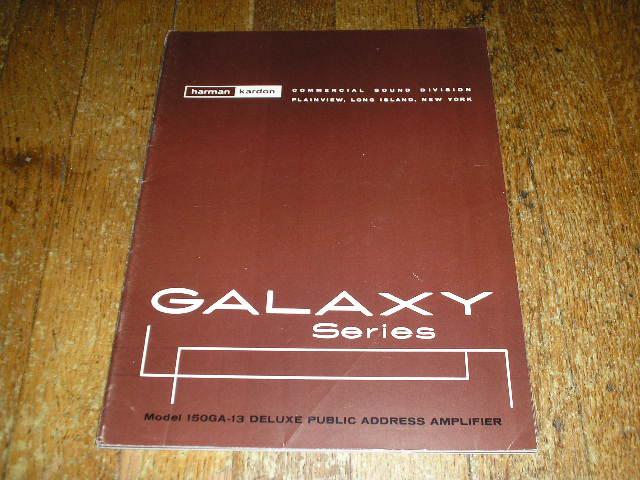 150GA-13 P.A. Galaxy Series  Amplifier Service Manual