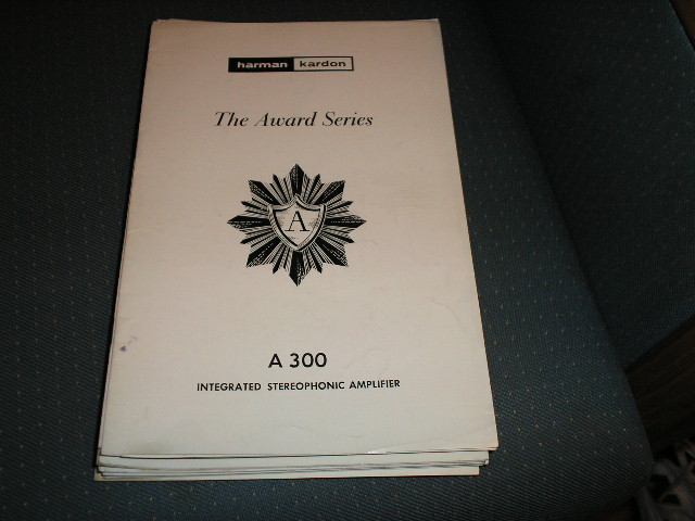 A300 Stereo Amplifier Service Manual with schematic