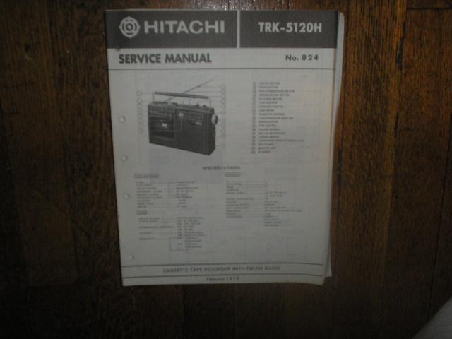 TRK-5120H CASSETTE RADIO Service Manual