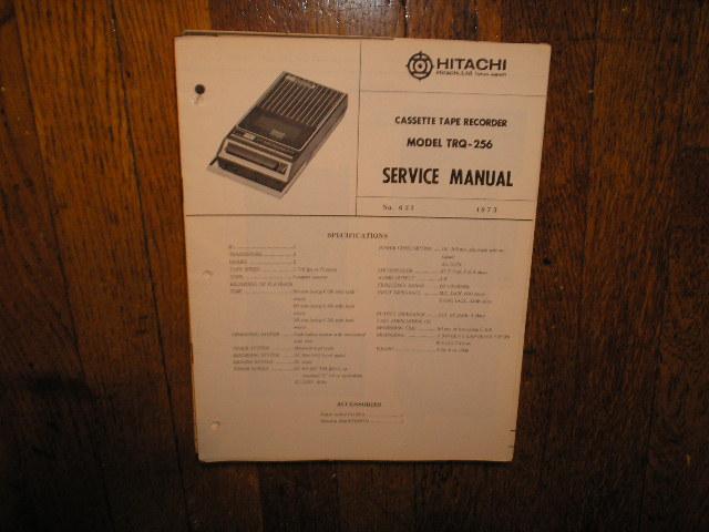 TRQ-256 Cassette Tape Recorder Service Manual