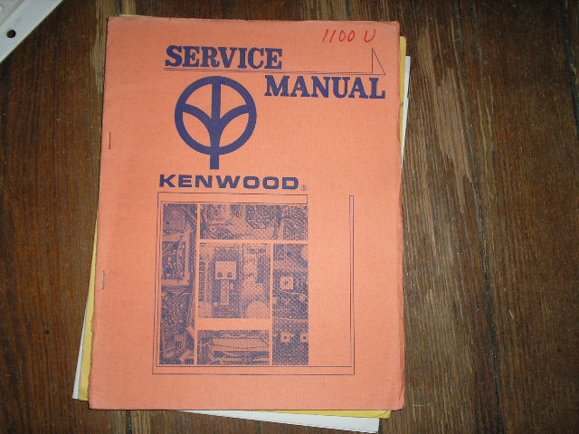 KW-1100U Receiver Service Manual  Kenwood Receivers