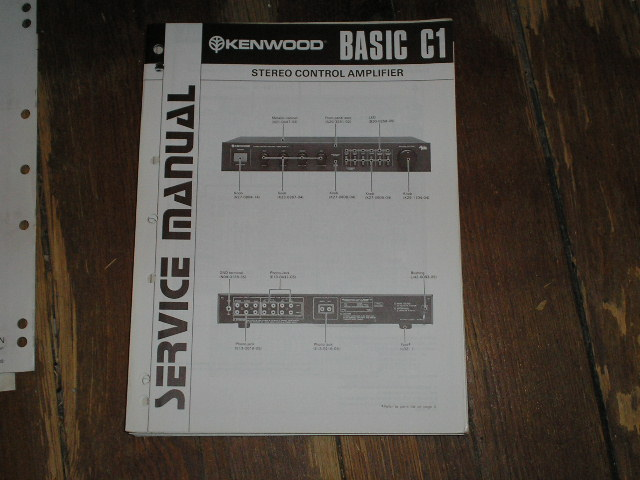 Basic C1 Amplifier Service Manual   B-51-1339   ..880