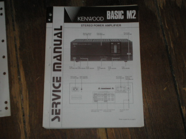 Basic M2  Amplifier Service Manual B51-1491  ..880