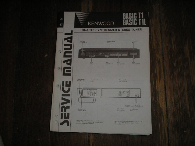 KENWOOD BASIC T1 BASIC T1L Service Manual