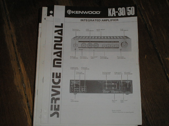 KA-50 KA-30 Amplifier Service Manual B51-0770...1320