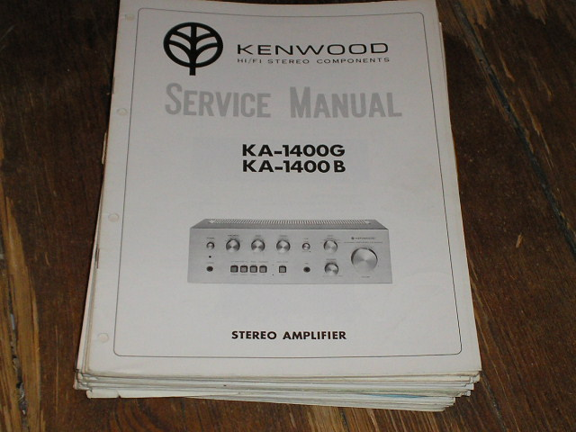 KA-1400B KA-1400G 