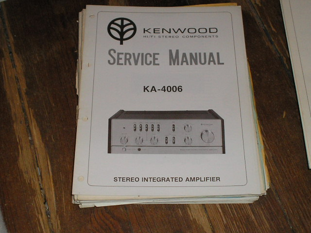 KA-4006 Amplifier Service Manual