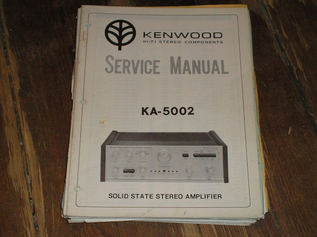 KA-5002 Amplifier Service Manual