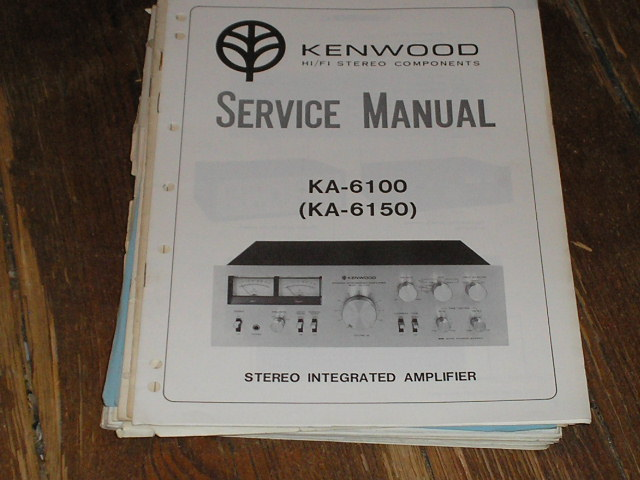 KA-6100 KA-6150 Amplifier Service Manual
