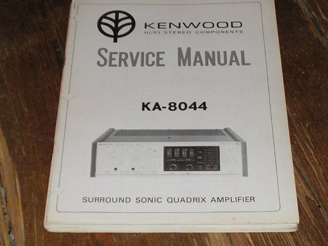 KA-8044 Amplifier Service Manual