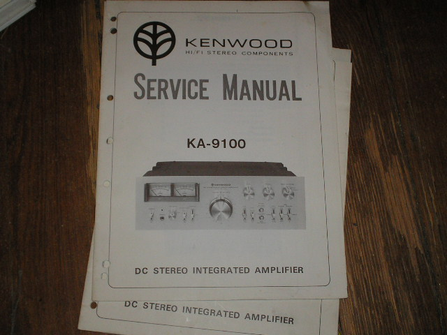 KA-9100 Amplifier Service Manual