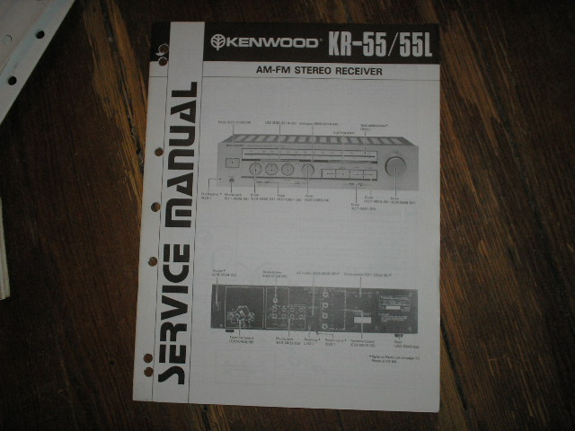 KR-55 KR-55L Receiver Service Manual B51-0783...880