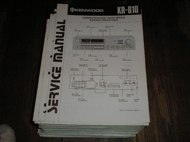 KR-810 Receiver Service Manual