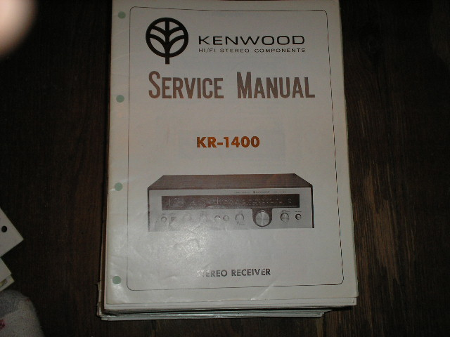 KR-1400 Receiver Service Manual  Kenwood Receivers