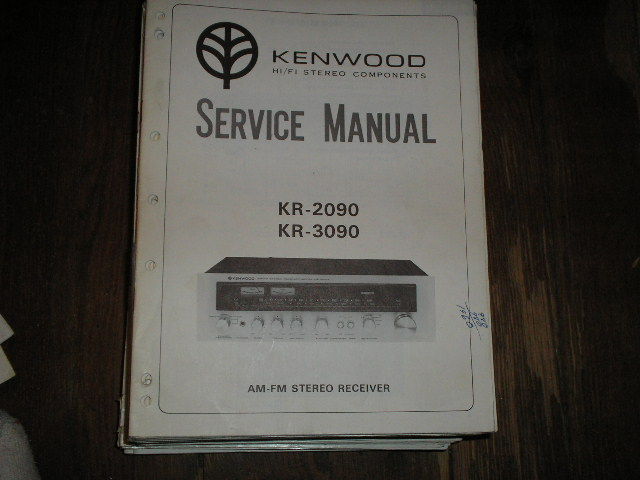 KR-2090 KR-3090 Receiver Service Manual  Kenwood Receivers