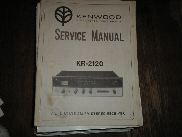 KR-2120 Receiver Service Manual  Kenwood Receivers