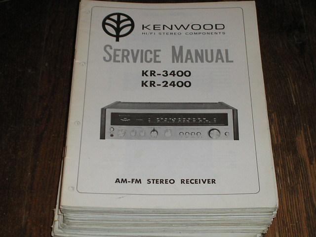 Denon avr 2400 Receiver manual