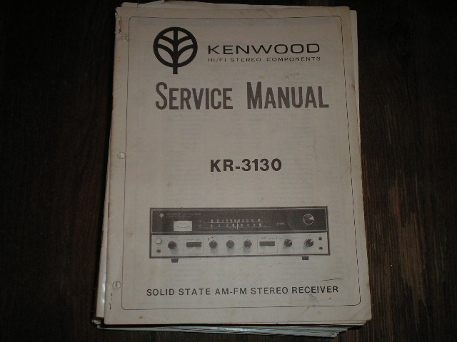 KR-3200 Receiver Service Manual  Kenwood Receivers